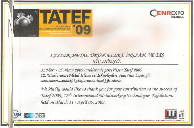 TATEF 2009