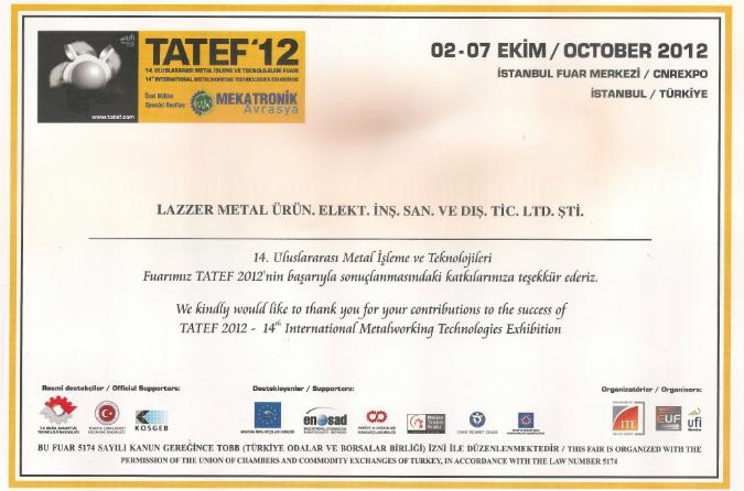 TATEF 2012